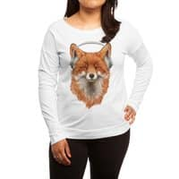 The Musical Fox - womens-long-sleeve-terry-scoop - small view