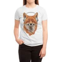 The Musical Fox - womens-triblend-tee - small view