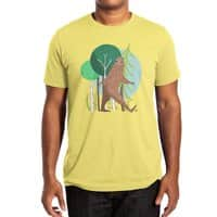 Big Foot, Big Heart - mens-extra-soft-tee - small view