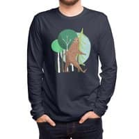 Big Foot, Big Heart - mens-long-sleeve-tee - small view