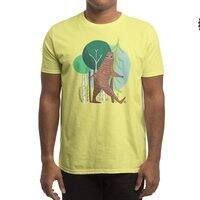 Big Foot, Big Heart - mens-regular-tee - small view
