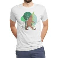 Big Foot, Big Heart - mens-triblend-tee - small view