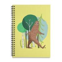 Big Foot, Big Heart - spiral-notebook - small view