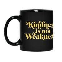 Kindness is not Weakness - black-mug - small view