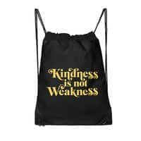 Kindness is not Weakness - drawstring-bag - small view