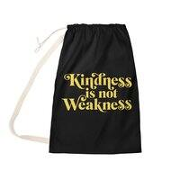 Kindness is not Weakness - laundry-bag - small view