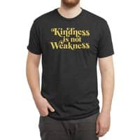 Kindness is not Weakness - mens-triblend-tee - small view