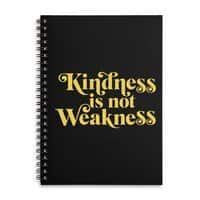 Kindness is not Weakness - spiral-notebook - small view