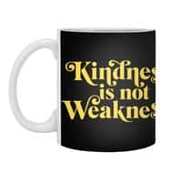 Kindness is not Weakness - white-mug - small view