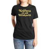 Kindness is not Weakness - womens-extra-soft-tee - small view