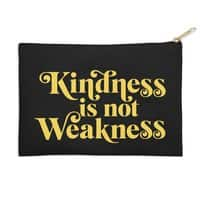 Kindness is not Weakness - zip-pouch - small view