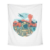 WRONG VACATION - indoor-wall-tapestry-vertical - small view