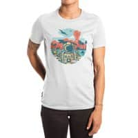 WRONG VACATION - womens-extra-soft-tee - small view