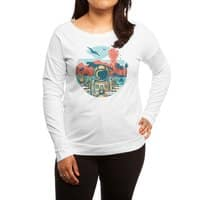 WRONG VACATION - womens-long-sleeve-terry-scoop - small view
