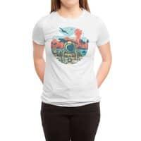 WRONG VACATION - womens-triblend-tee - small view
