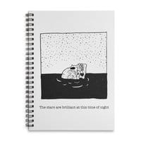 Drowning in Bliss - spiral-notebook - small view