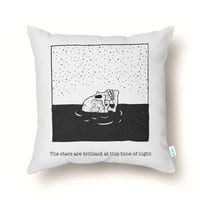 Drowning in Bliss - throw-pillow - small view