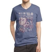 X's head - vneck - small view