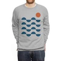 Regular Waves - crew-sweatshirt - small view
