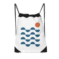 Regular Waves - drawstring-bag - small view