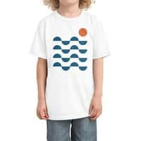 Regular Waves - kids-tee - small view