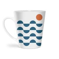 Regular Waves - latte-mug - small view