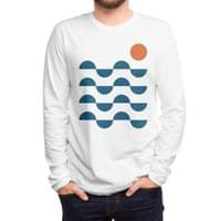 Regular Waves - mens-long-sleeve-tee - small view