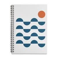 Regular Waves - spiral-notebook - small view