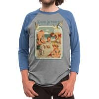 DARK SUMMER - triblend-34-sleeve-raglan-tee - small view