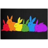 love is for everybunny - horizontal-canvas - small view