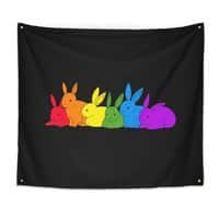 love is for everybunny - indoor-wall-tapestry - small view