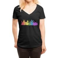 love is for everybunny - womens-deep-v-neck - small view