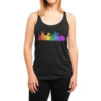 love is for everybunny - womens-triblend-racerback-tank - small view