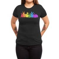 love is for everybunny - womens-triblend-tee - small view