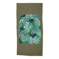 Monstera Monsters - beach-towel - small view