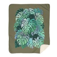 Monstera Monsters - blanket - small view