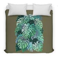 Monstera Monsters - duvet-cover - small view