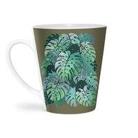 Monstera Monsters - latte-mug - small view