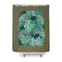 Monstera Monsters - shower-curtain - small view