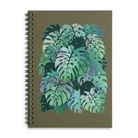 Monstera Monsters - spiral-notebook - small view