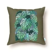Monstera Monsters - throw-pillow - small view