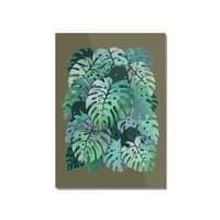 Monstera Monsters - vertical-mounted-acrylic-print - small view