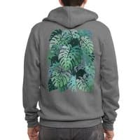 Monstera Monsters - zipup - small view