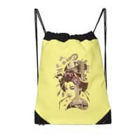 There's a dragon on Mount Fuji - drawstring-bag - small view