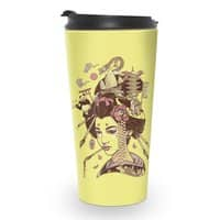 There's a dragon on Mount Fuji - travel-mug - small view