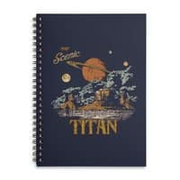Visit Scenic Titan - spiral-notebook - small view