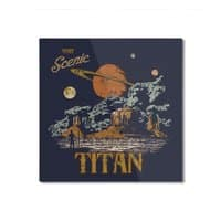 Visit Scenic Titan - square-mounted-aluminum-print - small view