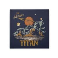 Visit Scenic Titan - square-stretched-canvas - small view