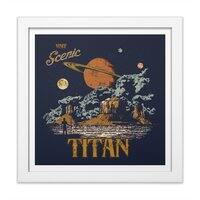 Visit Scenic Titan - white-square-framed-print - small view