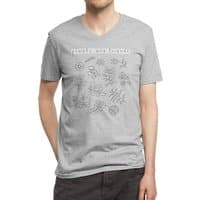 Plants are friends - vneck - small view